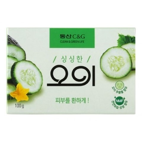 Clio Мыло туалетное огуречное Cucumber Soap, 100 гр