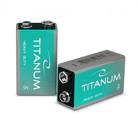 Батарейки Titanum 6F22, крона (1/10)