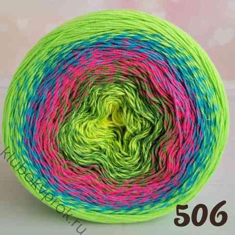 YARNART FLOWERS VIVID 506,