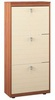 Гретта СБ-1960 Тумба для обуви (вишня/клен)