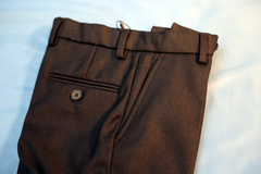 Классические утепленные брюки для мальчика (серые)