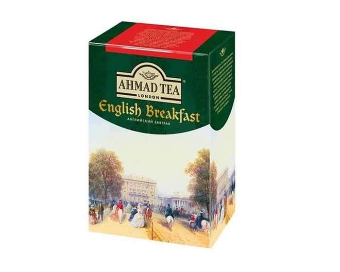 Чай черный листовой Ahmad Tea Английский Завтрак, 200 г