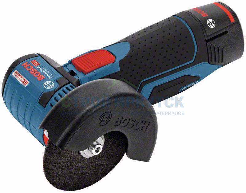 Шлифовальные машины Аккумуляторные угловые шлифмашины Bosch GWS 12V-76 (06019F2000) 260d40302dbb8b40342c54a74bbb158c