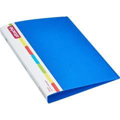 Папка на 4-х кольцах Attache 32 мм синяя до 170 листов (пластик 0.7 мм)