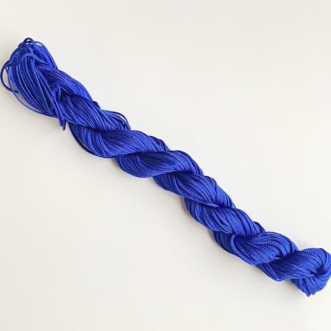 Шнур для плетения (нейлон) 1.0 мм синий