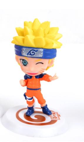 Фигурка Naruto синяя повязка, чиби