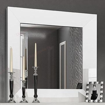 Зеркало FRANCO 1018 CARMEN белое
