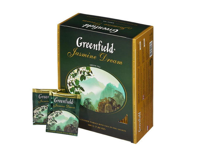 Greenfield Jasmin Dream, 100 пак/уп