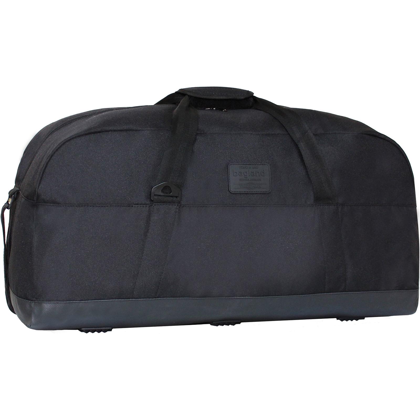Спортивные сумки Сумка дорожная Bagland Roomy 55 л. Чёрный (0030266) IMG_9028.JPG