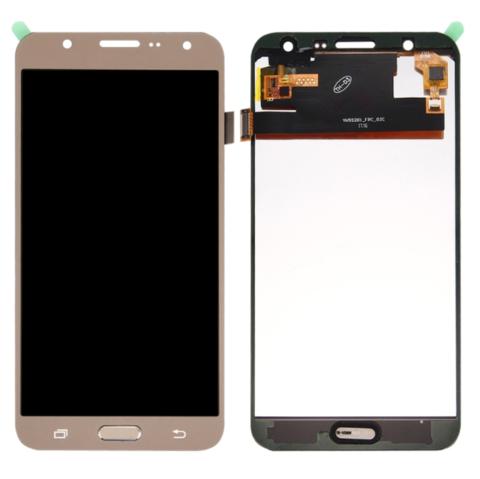 LCD SAMSUNG J7 J700 + Touch Gold Orig MOQ:5
