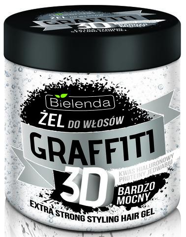 ГРАФФИТИ 3D Гель для волос ULTRA STRONG 250 мл