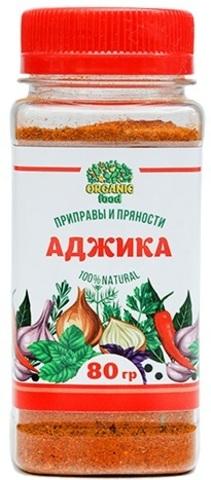 Приправа Аджика сухая Organic Food, 75г
