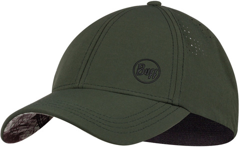 Спортивная кепка Buff Trek Cap Hashtag Moss Green фото 1