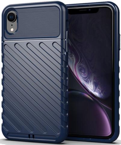 Чехол iPhone XR цвет Blue (синий), серия Onyx, Caseport