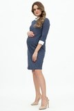Платье для беременных 09145 джинса