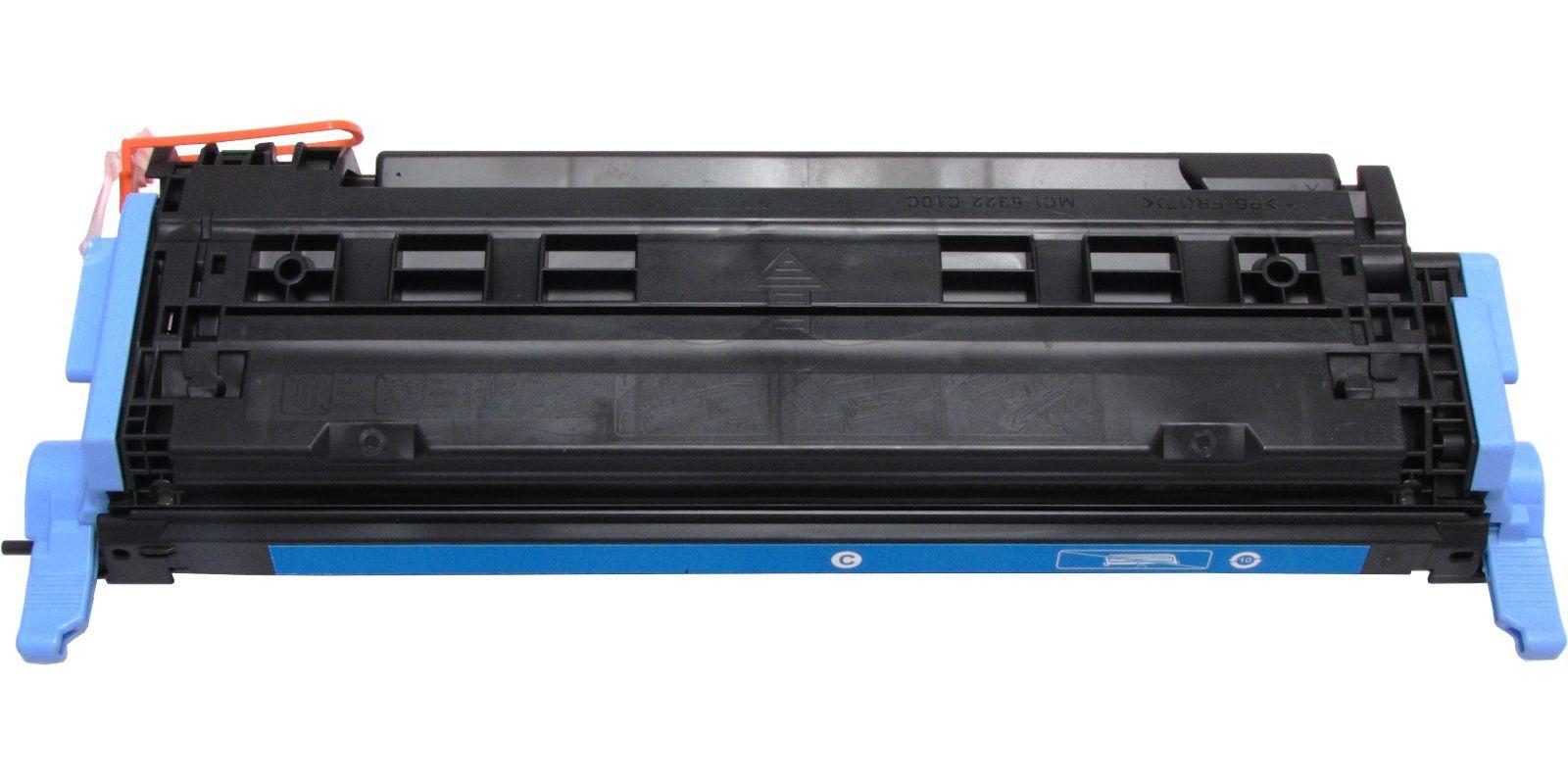 Картридж лазерный цветной MAK© 124A Q6001A CARTRIDGE-307/707/107 голубой (cyan).