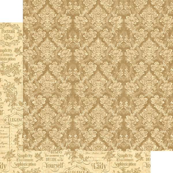 Бумага для скрапбукинга Grace, Graphic45