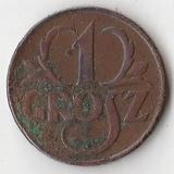 K7507, 1925, Польша, 1 грош