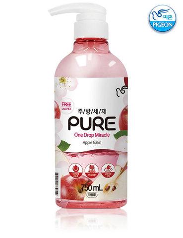 PIGEON Средства для мытья посуды Pure One Drop Miracle Apple Balm 750 мл