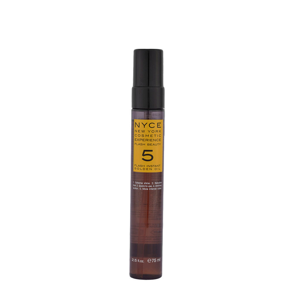 Масло NYCE Flash 5 Instant Golden Oil 75 мл