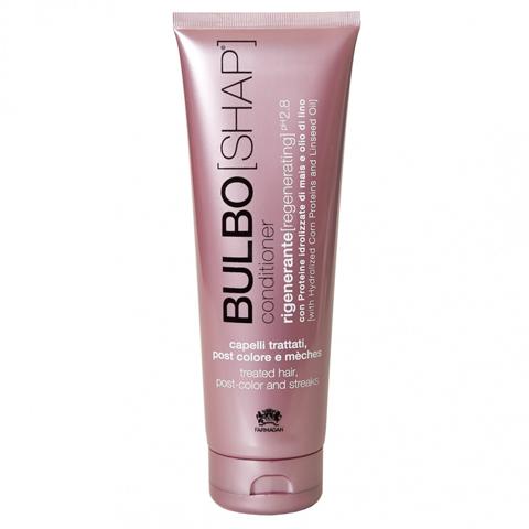 Farmagan Bulboshap:  Восстанавливающий кондиционер для окрашенных волос (Conditioner Post Color & Streaks), 250мл