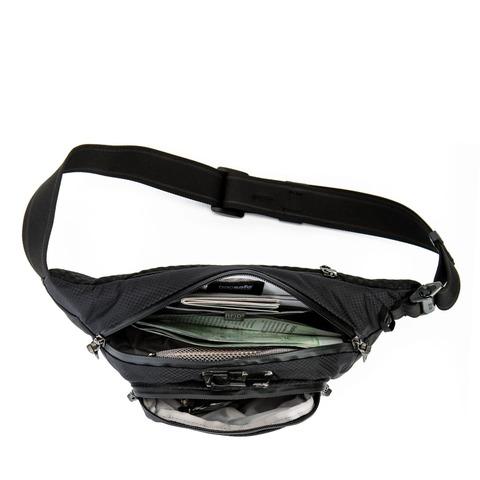Картинка сумка поясная Pacsafe Venturesafe X Waistpack черный - 2