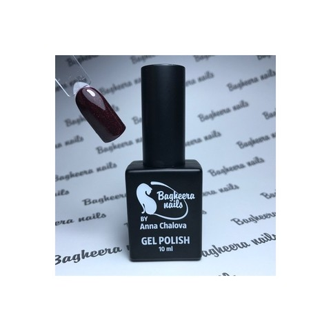 Bagheera Nails BN-103 гель-лак с блёстками 10 мл