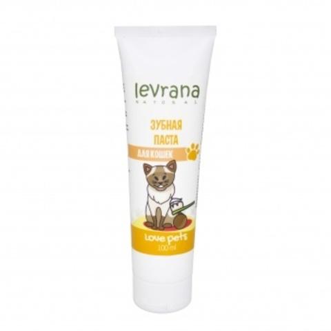 Зубная паста для кошек 100 мл (Levrana)