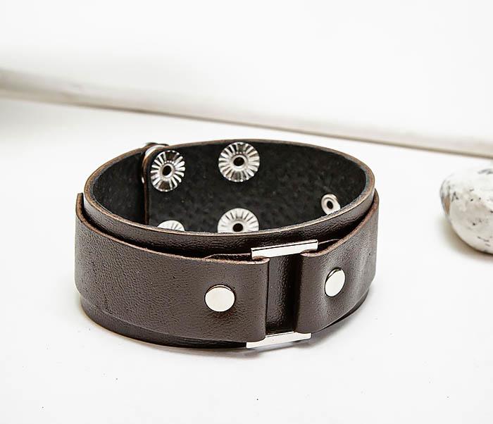 BL799-2 Мужской браслет напульсник ручной работы фото 04