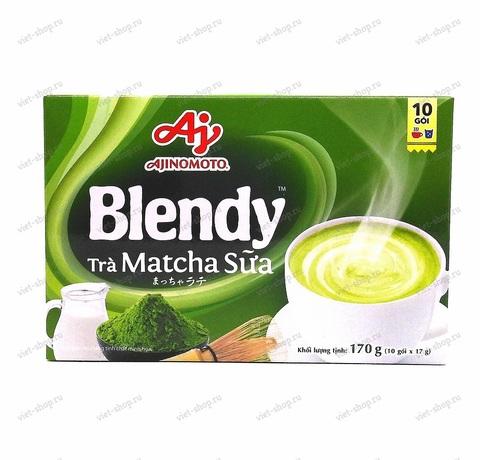 Вьетнамский чай Матча 3 в 1 Ajinomoto Blendy, 10 пак.