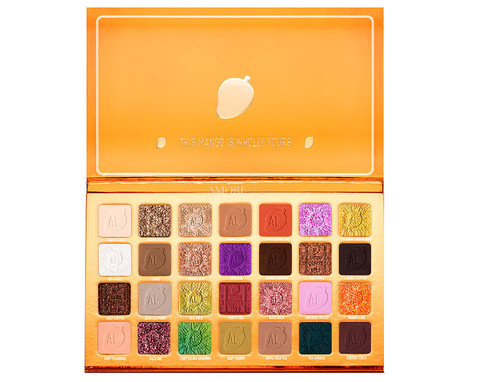 AL.RUTKOVSKIY Cosmetics Mango Indian King Eyeshadow Palette