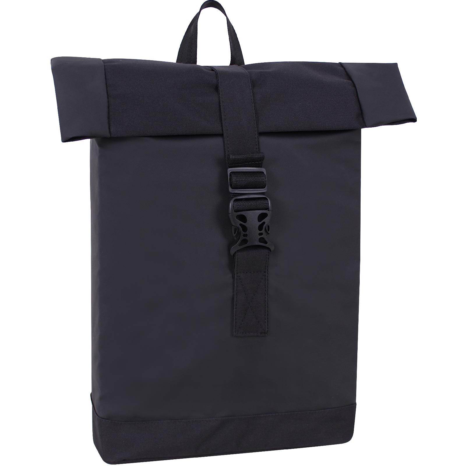 Городские рюкзаки Рюкзак Bagland Florence 23 л. черный/кожзам (0057191) IMG_9574.jpg