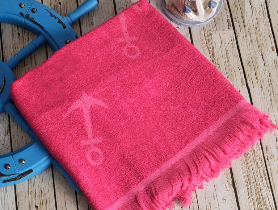 Полотенца для бани и сауны SEASIDE Fuchsia (фуксия) полотенце пляжное бамбуковое  IRYA (Турция) SEASIDE_Fuchsia__фуксия_.jpg
