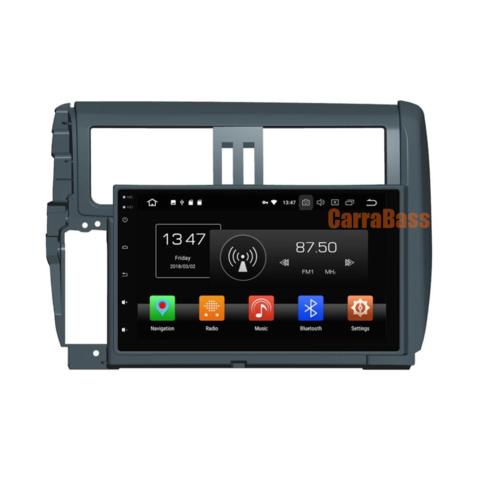 Штатная магнитола KD 9025-PX5 Toyota Prado 150 (2010-2013) Android 8.1