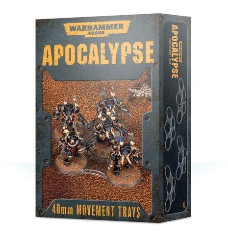 Apocalypse Movement Trays 40 mm