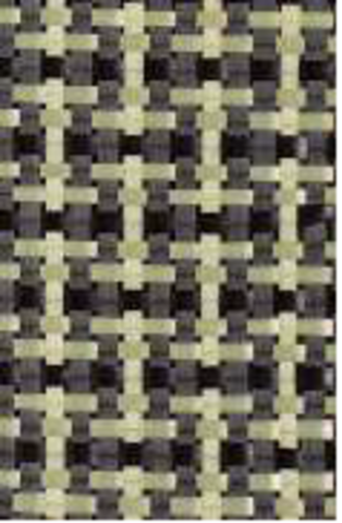 Гибридная ткань CA 164 P1/1 120 cm углерод/арамид