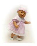 Платье хлопковое - . Одежда для кукол, пупсов и мягких игрушек.