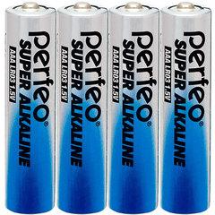 Батарейки Perfeo Alkaline LR03, AAA (4/60/960)