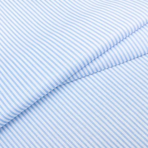Бязь плательная 150 см 1663/3 цвет голубой