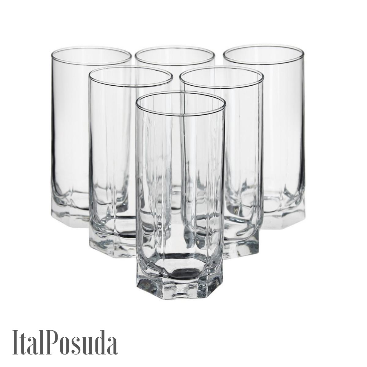 Набор стаканов для коктейля Pasabahce Tango (Танго), 6 шт BP42949