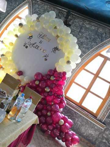 Фотозона на свадьбу баннер