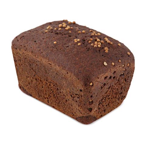 Хлеб бездрожжевой форм.бородинский 340 г., (вл.35)