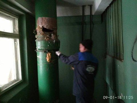 Замена и ремонт мусоропроводов