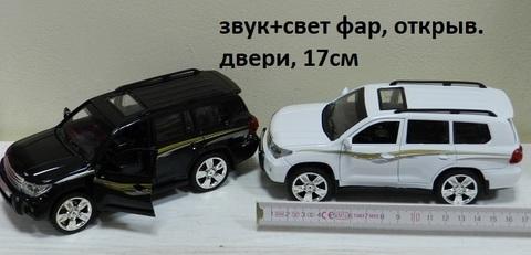 Машина мет. М923J Тойота свет, звук (Г)