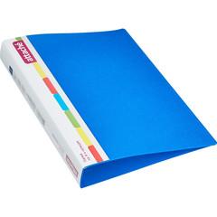 Папка на 4-х кольцах Attache 42 мм синяя до 250 листов (пластик 0.7 мм)