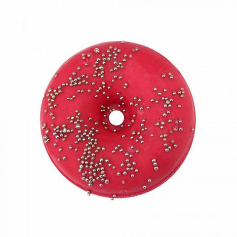 Пончик для принятия ванны Клубника PRETTY GARDEN 180±10 г Уральская мануфактура