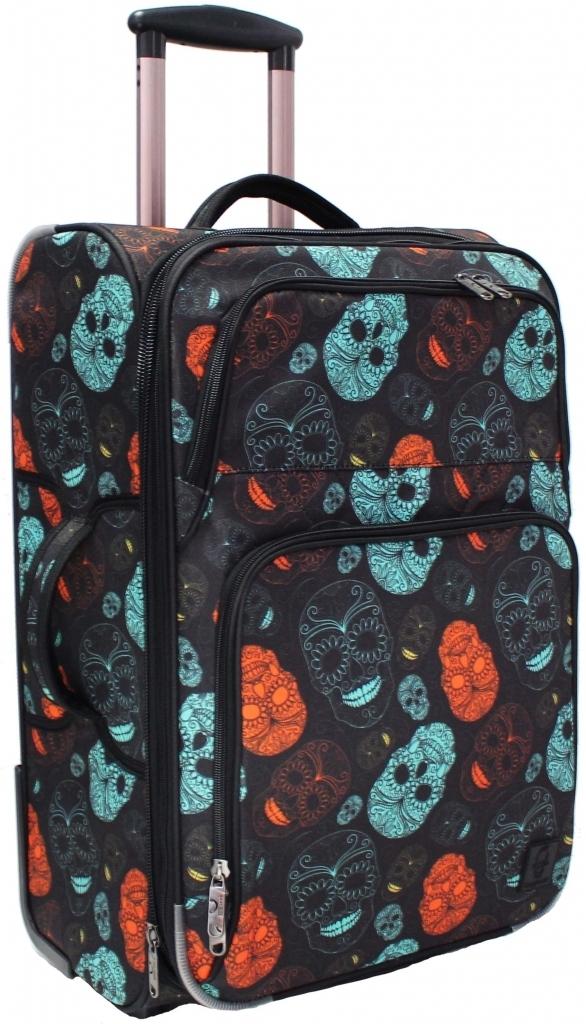 Дорожные чемоданы Чемодан Bagland Леон средний дизайн 51 л. сублимация (черепа) (0037666244) 070299e301fd3659bcc06897572f696f.JPG