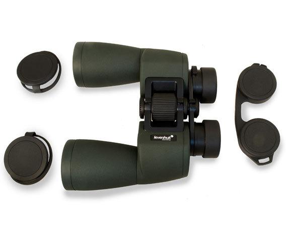 Нетеряемые защитные крышки Levenhuk Sherman Pro 12x50