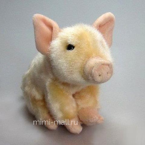 Мягкая игрушка Поросенок 18 см (Leosco)