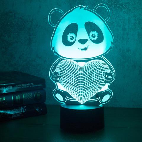 Панда с сердцем